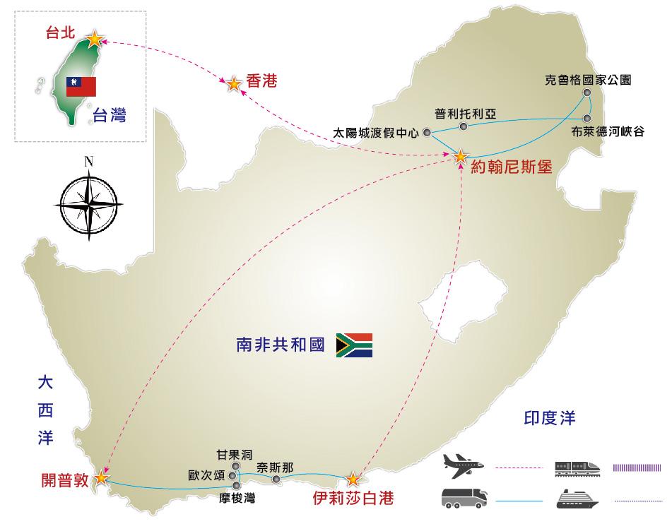 非洲木雕分布地图