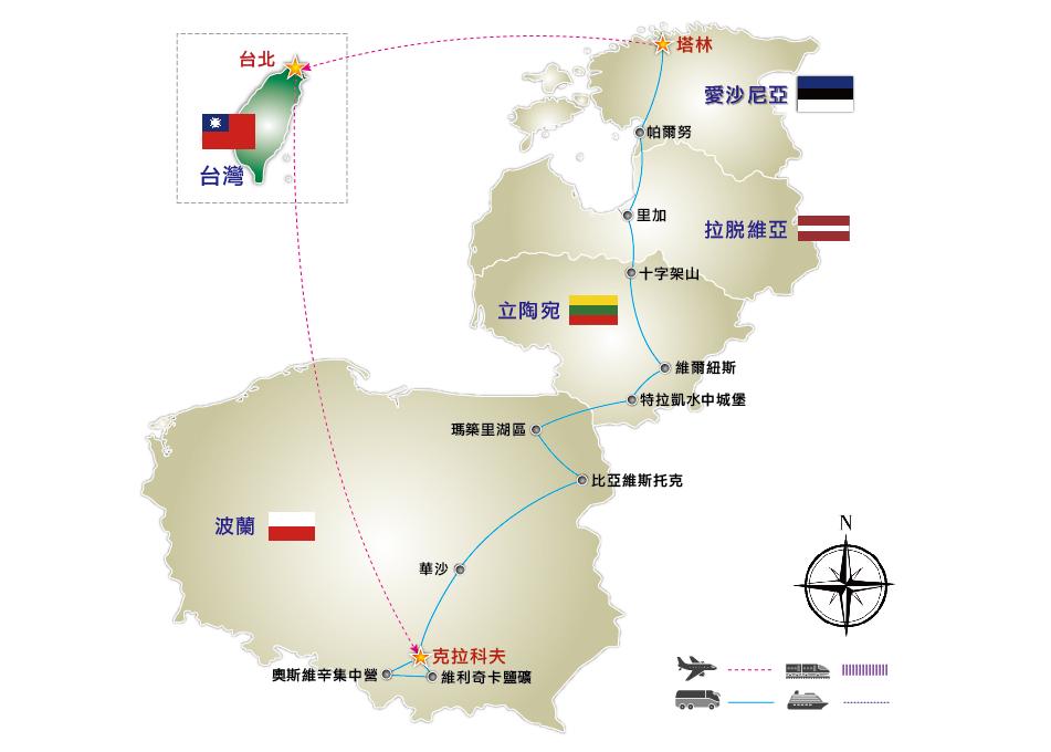 西式手绘地图